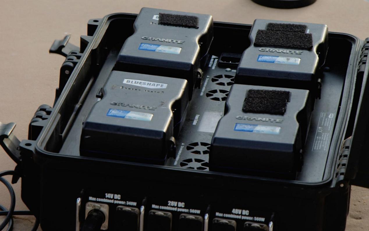 Charging Blueshape Granite Batteries
