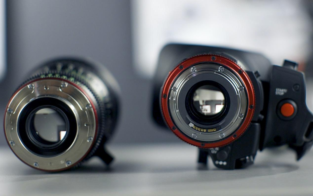 Renting camera lenses
