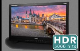 今秋上新 5000尼特HDR主控级监视器——尊正XM312U