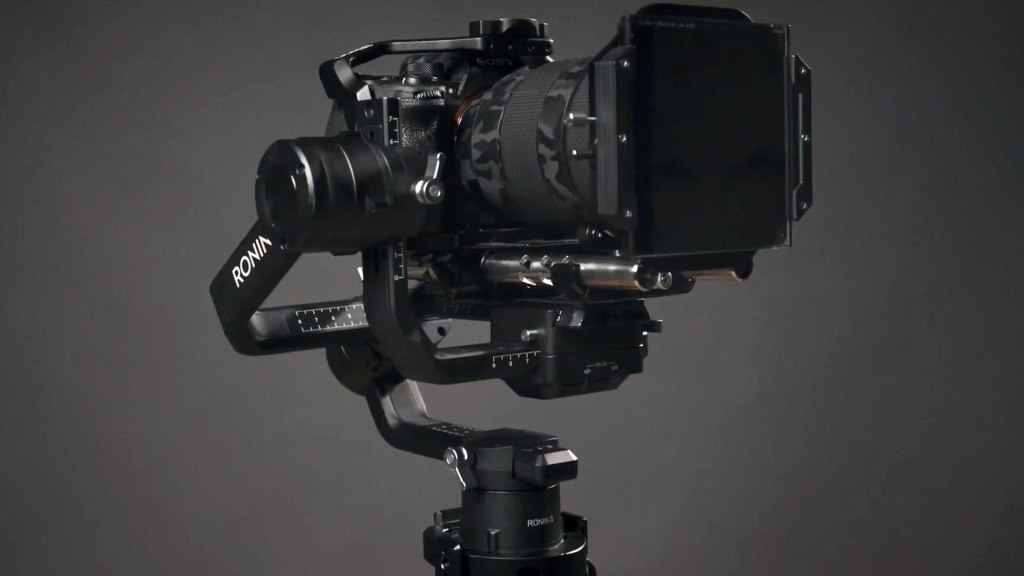 On a stabilized gimbal. Picture: Mark Singer