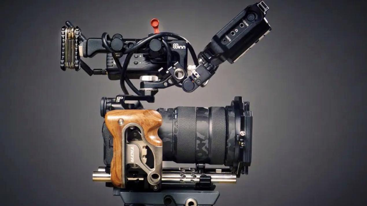The Art of Camera Rigging. Picture: Mark Singer