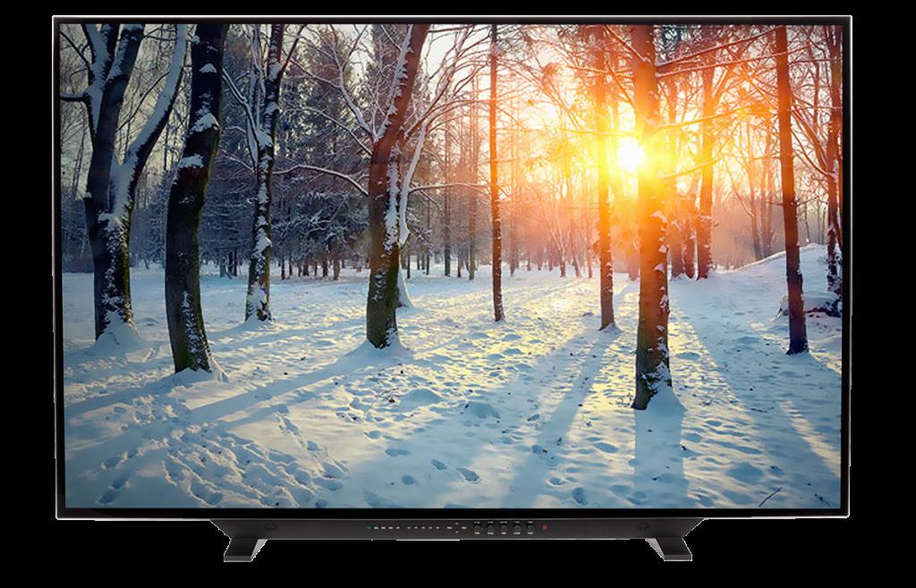 尊正大尺寸监视器,4K HDR监视器XM551U