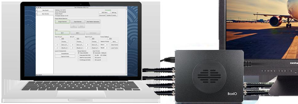 尊正色彩管理设备BoxIO SDI精简版帧调用